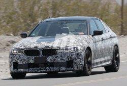 El nuevo BMW M5 se pone a prueba en el desierto