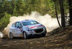 Pepe López pierde el liderato de la 208 Rally Cup en Lozère