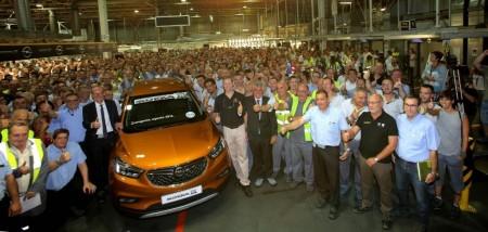 El nuevo Opel Mokka X comienza a fabricarse en Figueruelas