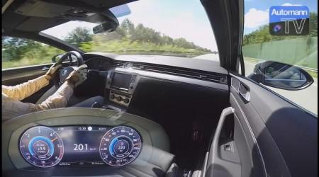 Así acelera el Passat 2.0 TDI BiTurbo 240 CV de 0 a 220 km/h en una Autobahn