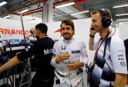 Alonso, satisfecho con las novedades del McLaren