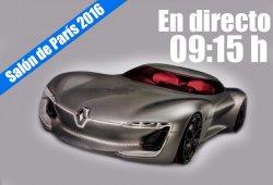 Salón de París 2016: las novedades de Renault en directo