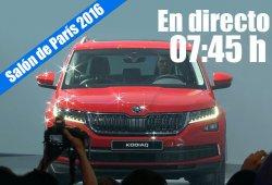 Salón de París 2016: las novedades de Skoda en directo