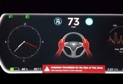 Así es como castiga el Autopilot 8.0 de Tesla a los conductores que no le hacen caso
