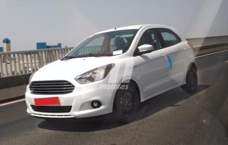 El Ford Ka+ ya se pasea por las carreteras españolas, su lanzamiento es inminente