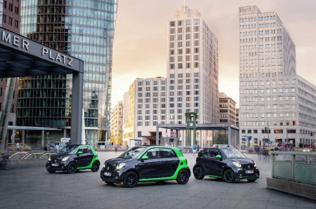 Nueva gama Smart electric drive, los nuevos utilitario, coupe y cabrio eléctricos
