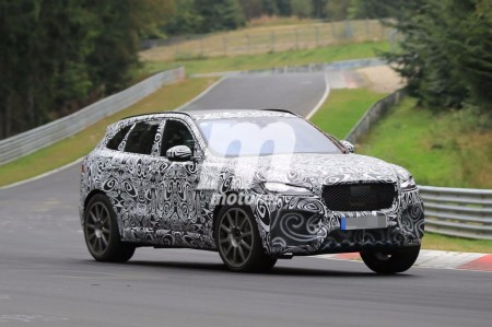 El Jaguar F-Pace SVR irrumpe en el asfalto de Nürburgring