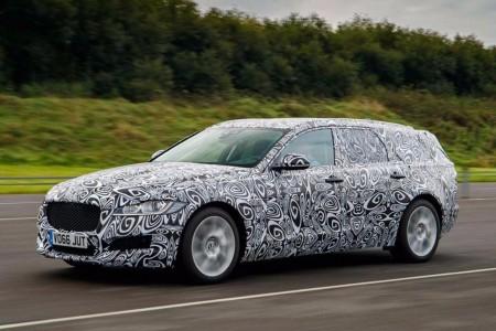 Jaguar confirma el XF Sportbrake 2017 y desvela su primera imagen oficial (camuflado)