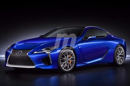 Habrá un Lexus LC F, previsto para 2019: así será su diseño