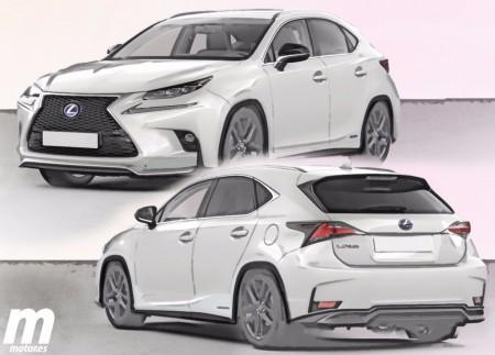 Adelanto del nuevo Lexus UX 2017 que veremos nacer en París 2016