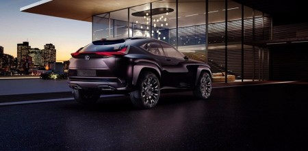 Lexus UX, primera imagen del crossover compacto