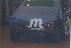 Citroën C3 Picasso 2017: al descubierto parte de su frontal en estas fotos espía