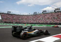 Force India deja que Williams se escape vivo de México