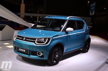 Suzuki Ignis 2017, el crossover urbano debuta en Europa