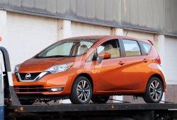 Cazado el Nissan Versa Note 2018 camino de su presentación