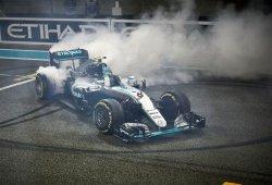 Nico Rosberg, campeón del mundo con inútil victoria para Hamilton