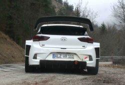Susto para Dani Sordo en los test del Hyundai i20 WRC 2017