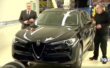 El Alfa Romeo Stelvio se deja ver en televisión en su acabado básico