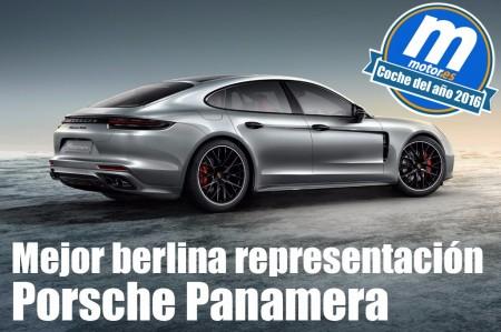 Mejor berlina de representación 2016 para Motor.es: Porsche Panamera