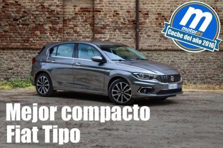 Mejor compacto 2016 para Motor.es: Fiat Tipo