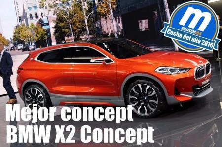 Mejor concept 2016 para Motor.es: BMW X2 Concept