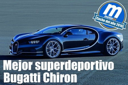 Mejor superdeportivo 2016: Bugatti Chiron