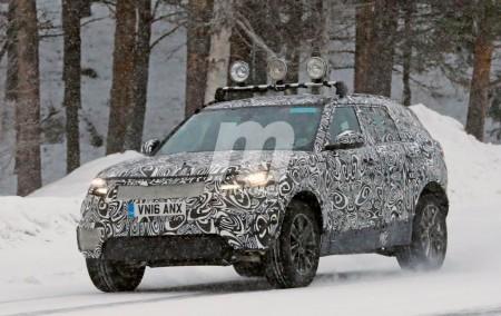Range Rover Sport Coupé 2018: el nuevo SUV de lujo ya se enfrenta al frío y la nieve