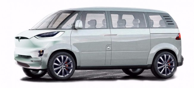 Tesla minibús
