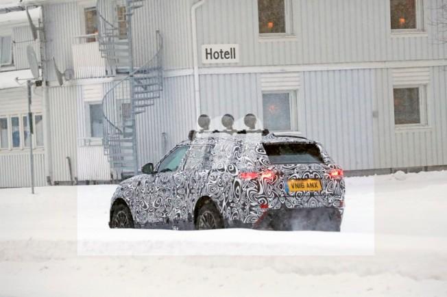 Range Rover Sport Coupé 2018 - foto espía