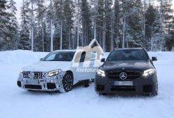 El Mercedes AMG GLC 63 Coupé saca músculo en familia
