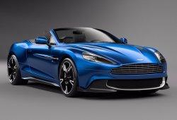Aston Martin Vanquish S Volante 2017: máxima radicalidad a cielo abierto