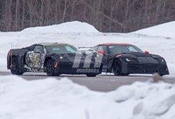 Chevrolet Corvette C8: El Corvette de motor central junto al nuevo ZR1