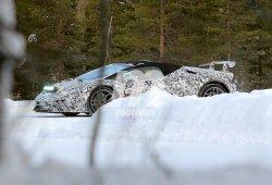 Lamborghini Huracán Performante Spyder, por primera vez ante nuestro objetivo