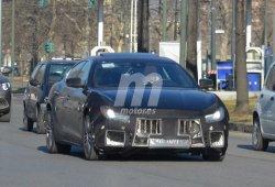 Maserati Ghibli 2018: Las primeras imágenes de la actualización del sedán italiano