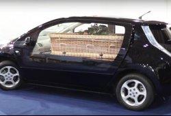El Nissan Leaf se convierte en el primer coche fúnebre eléctrico europeo