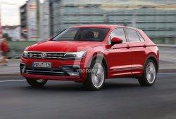 Volkswagen Tiguan Coupé: anticipando el diseño de una variante con alma deportiva
