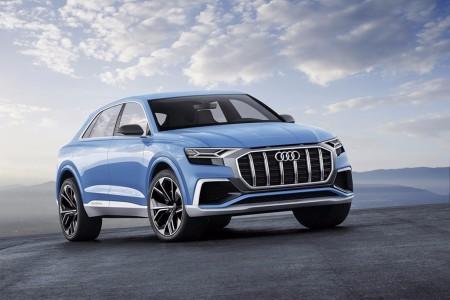 Audi Q8 Concept: lujo para cuatro ocupantes y propulsión híbrida enchufable