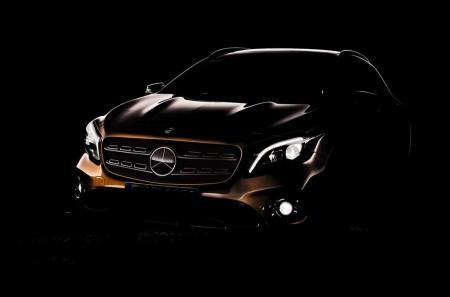Mercedes GLA 2018: anticipando su línea antes de su debut en Detroit