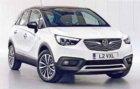 Opel Crossland X: Filtrada su primera imagen al completo