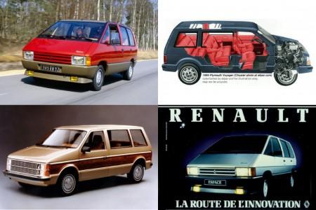 Renault y Chrysler: La historia no contada del origen del monovolumen moderno