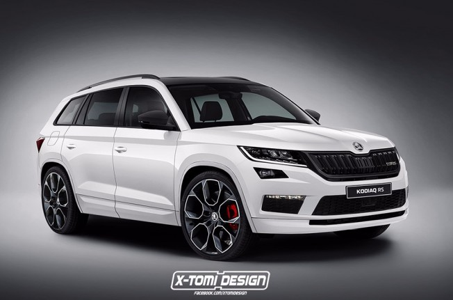 Skoda Kodiaq RS - recreación