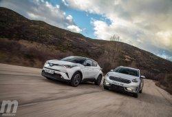 Comparativa Toyota C-HR vs Kia Niro, los primeros de una especie