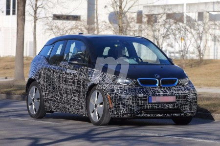 Cazado por primera vez el próximo BMW i3 2018