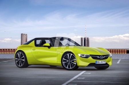 Opel GT Targa: imaginando el futuro descapotable alemán