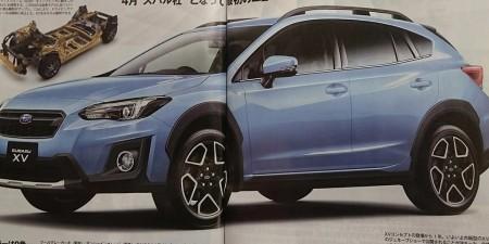 Se filtra el nuevo Subaru XV 2018 a falta de pocas semanas para su debut en Ginebra