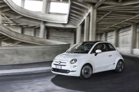 Italia - Enero 2017: Fiat 500, plata por sorpresa