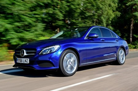 Reino Unido - Enero 2017: El Mercedes Clase C logra su mejor resultado
