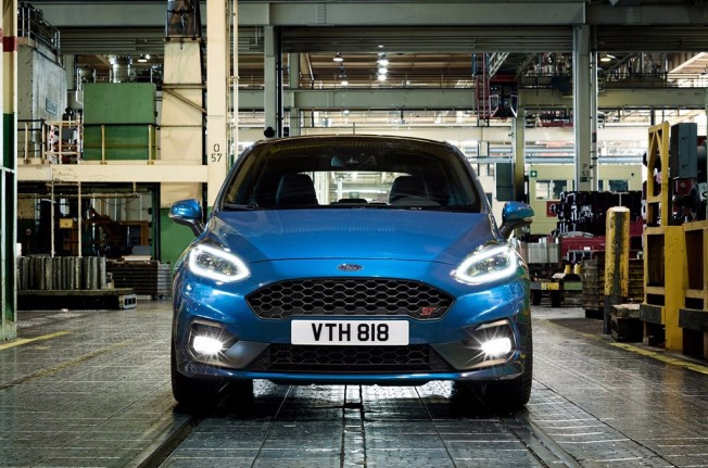 Ford Fiesta ST 2018 - frontal