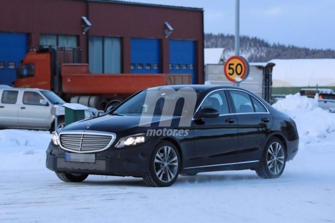 Mercedes Clase C 2018 - foto espía