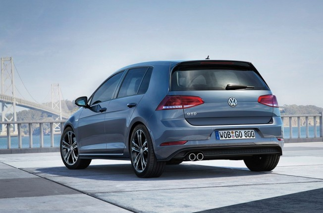 Volkswagen Golf Gtd 2017 Posterior